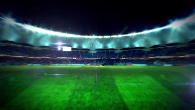 Football Stadium animation video