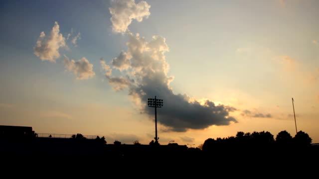 Football Stadium Pan video