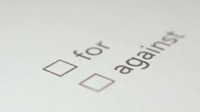 For Checkbox Marking Survey video