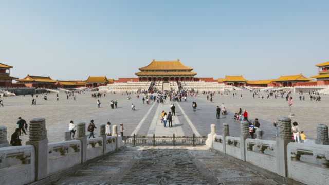 T/L WS ZO Forbidden City / Beijing, China video