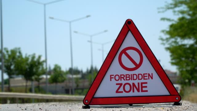 Forbidden Zone - Traffic Sign