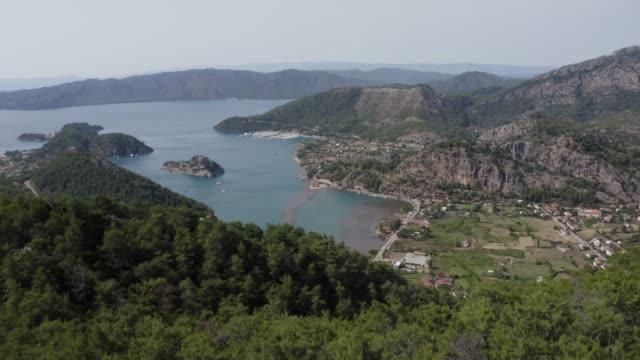 skog och vik - egeiska havet bildbanksvideor och videomaterial från bakom kulisserna