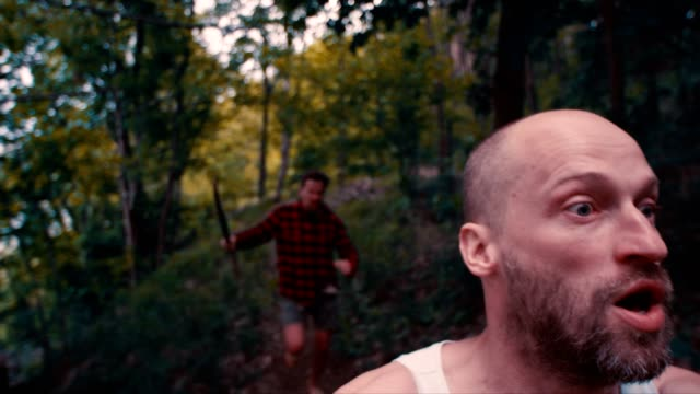 森林暴行 - 戦い点の映像素材/bロール