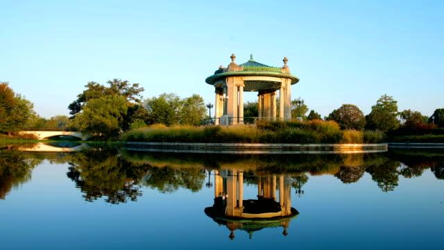 forest park bandstand in st. louis, missouri - st louis filmów i materiałów b-roll