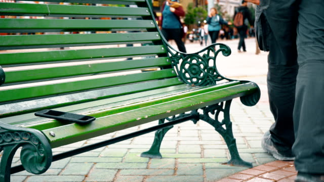 Forgetting Phone on Bench