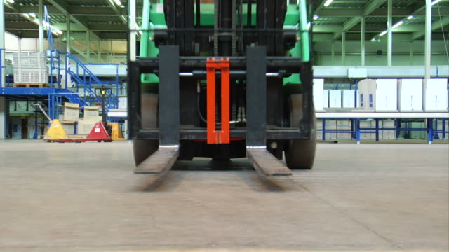 Forklift Forklift at factory forklift stock videos & royalty-free footage