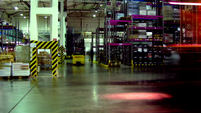 Forklifts #1 time lapse video