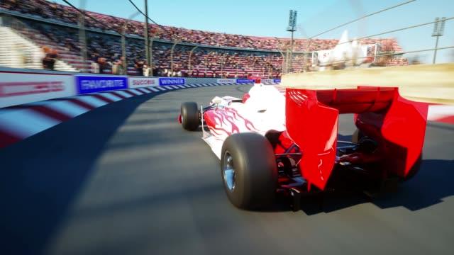 Formula One Car Detail Close up