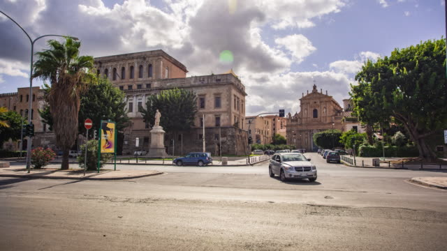 Foro Italico in Palermo in Time Lapse #2