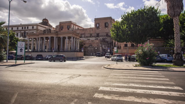Foro Italico in Palermo in Time Lapse