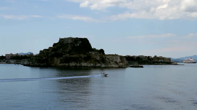 fortress at the Corfu video
