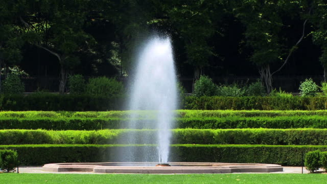 Fountain & Gardens video