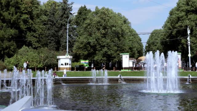 Fountain in Sokolniki Park