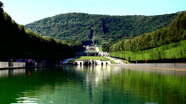 Fountain of Campania, Italy Fountain of Campania, Italy palace stock videos & royalty-free footage