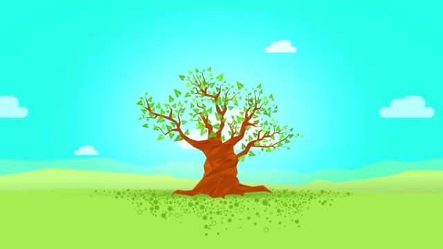 four seasons tree - four seasons 個影片檔及 b 捲影像