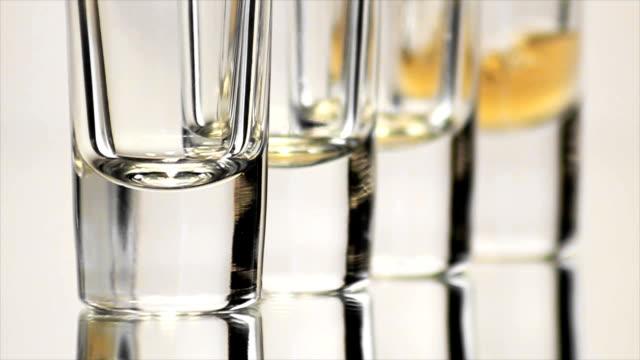 Four Shot Glasses Bottoms video