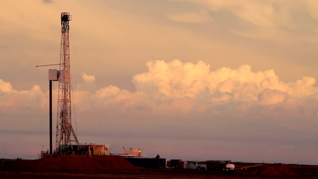 Fracking and Thunderheads HD video