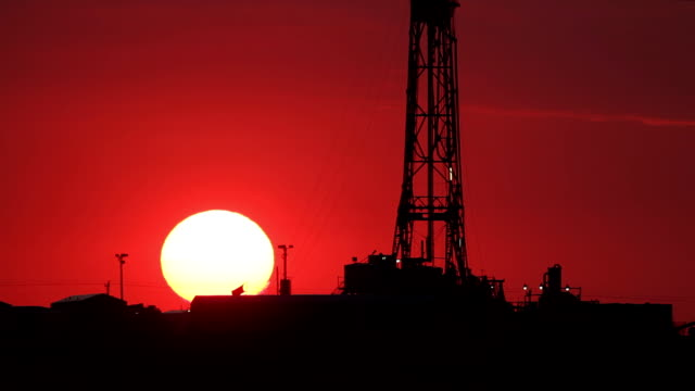 Fracking Red Sky video