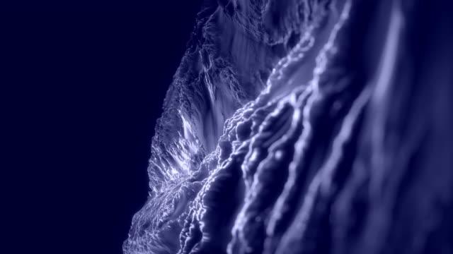 Fraktal arka plan animasyon. Sorunsuz döngü. video