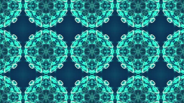 Fractal Pattern Background Animation video