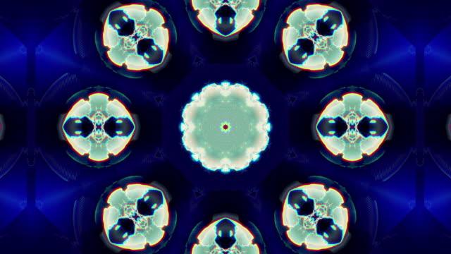 vídeos de stock, filmes e b-roll de animação de fundo padrão fractal - manipulação digital
