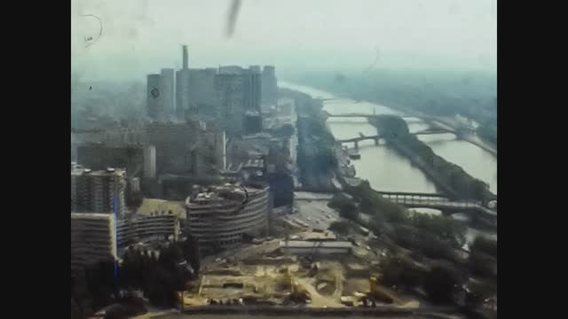 France 1976, Aerial view Of Paris 3