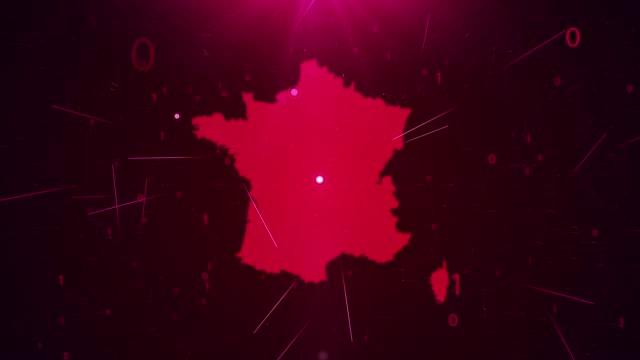 vidéos et rushes de france map connections détails complets contexte - carte france