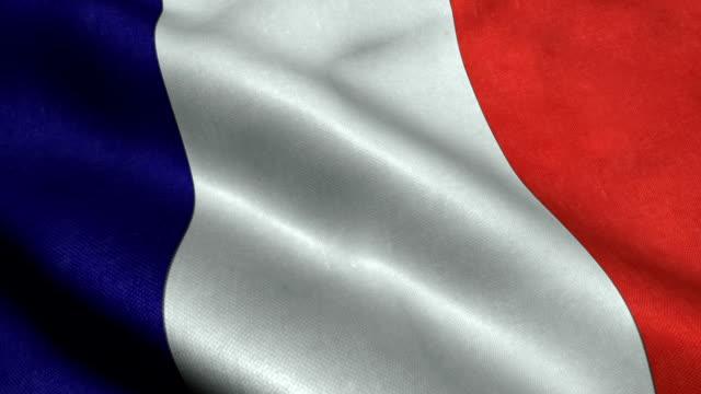 France National Flag video
