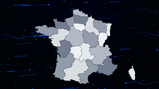 France network map video