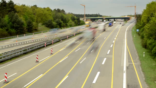 Frankfurt Autobahn time lapse video