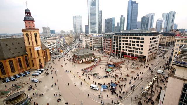 Frankfurt Downtown video