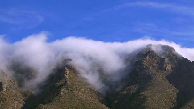 franklin mountain, el paso, texas - 州立公園 個影片檔及 b 捲影像