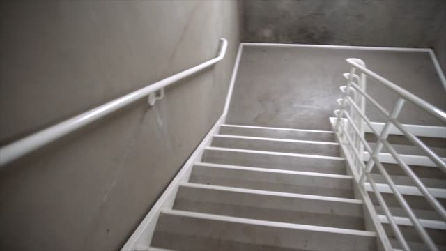 frantic stairwell time lapse
