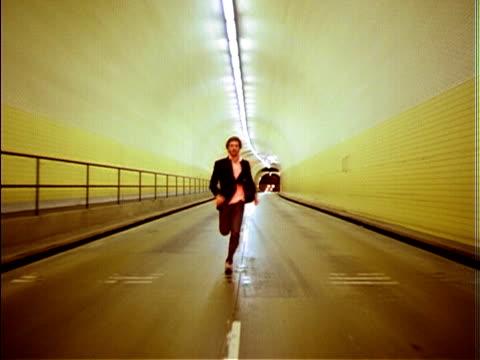 Frantic tunnel video