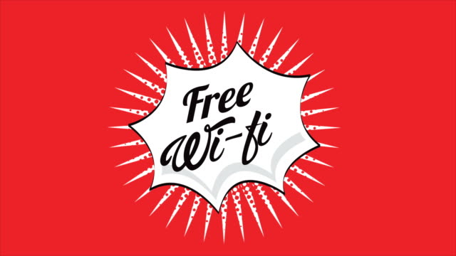 Free wifi, Video animation video