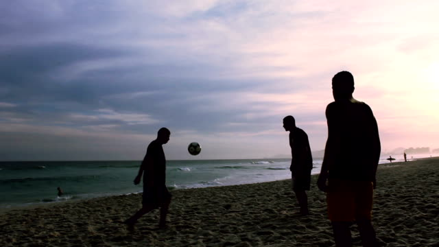 Freestyle Soccer on Beach video