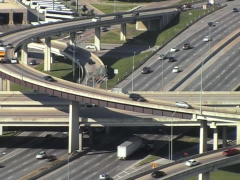 freeway intersection video
