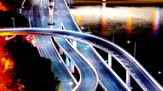 Freeway Timelapse video