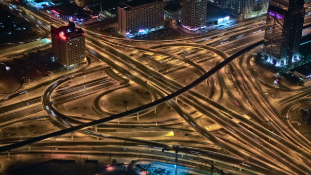 Freeway Traffic Time Lapse video