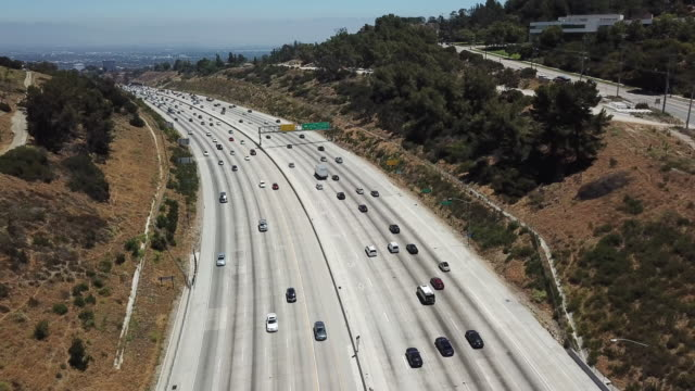 405 freeway - getty filmów i materiałów b-roll