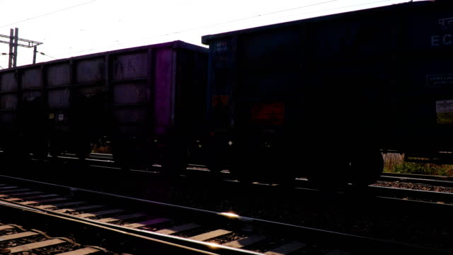 freight rail i 4 k-upplösning - haryana bildbanksvideor och videomaterial från bakom kulisserna