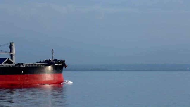 spedizione cargo - nave cisterna video stock e b–roll