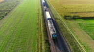 istock Freight Train Passing Through Countryside In The Afternoon 869879272