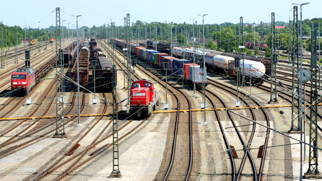 Freight trains video