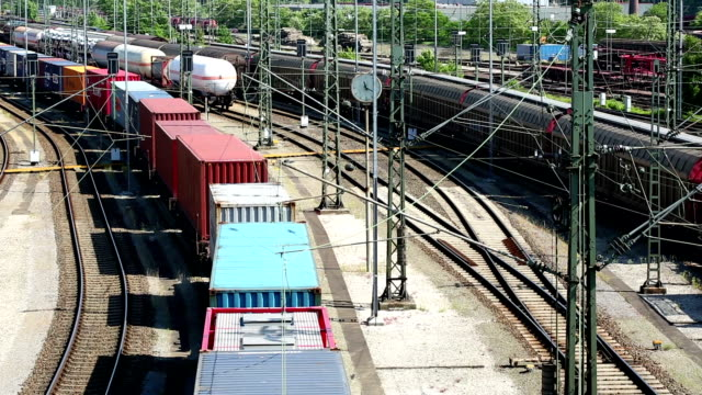 Freight Trains, Wagons and Railways video