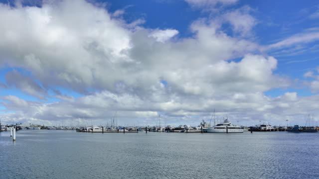 Fremantle's Yacht Harbour, Perth, Western Australia video