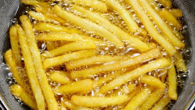 French fries. video