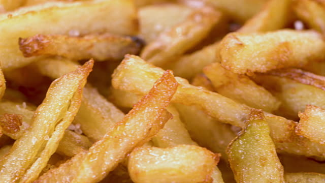 French Fries With Sea Salt Slide video