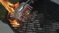 istock A French Rack Of Lamb On A Fiery Charcoal Grill 1225289032