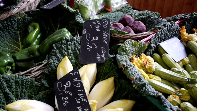 French vegetables video